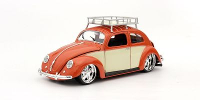MAISTO 1/18scale 1956 Volkswagen Beetle (Metallic Orange)  [No.MS32614MTO]