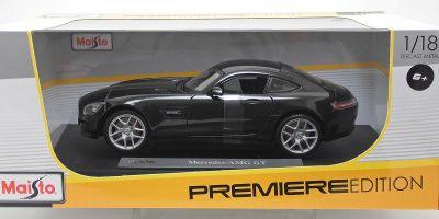 MAISTO 1/18scale Mercedes Benz AMG GT Matte Black  [No.MS36204MBK]