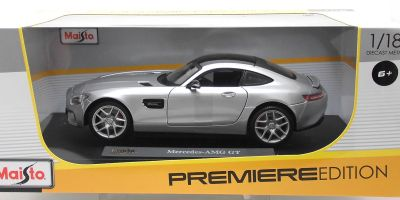 MAISTO 1/18scale Mercedes Benz AMG GT Silver  [No.MS36204S]