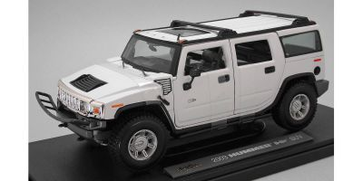 MAISTO 1/18scale 2003 HUMMERR H2R SUV White  [No.MS36631W]