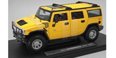 MAISTO 1/18scale 2003 HUMMERR H2R SUV (Yellow)  [No.MS36631Y]