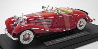 MAISTO 1/18scale 1936 Mercedes-Benz 500k Typ Special Roadster (Red)  [No.MS36862R]