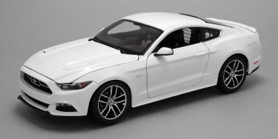MAISTO 1/18scale Ford Mustang White  [No.MS38133]