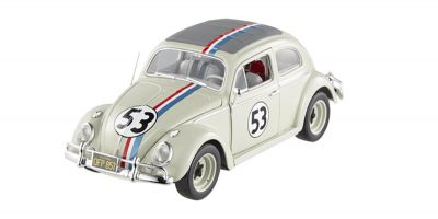 "MATTEL (HOT WHEELS) 1/43scale 1963 VW BEETLE HERBIE ""GOES TO MONTE CARLO""  [No.MTBLY28]"