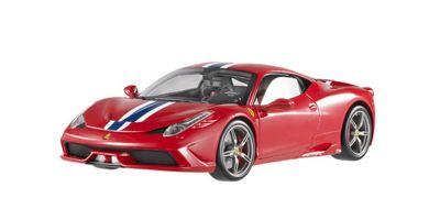 MATTEL (HOT WHEELS) 1/18scale フェラーリ 458 スペチアーレ エリートシリース レッド [No.MTBLY31]