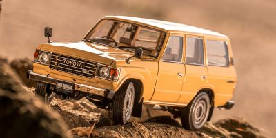 KYOSHO ORIGINAL 1/18scale Toyota Land Cruiser 60 (Traditional Beige)  [No.KS08956BE]