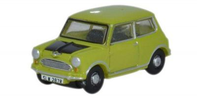 OXFORD 1/148scale Mini Cooper (Lime Green)  [No.OX148NMN005]