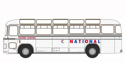 OXFORD 1/148scale Bristol MW6G Bus Eastern Counties NBC  [No.OXNMW6003]