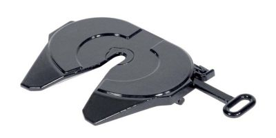 NZG 1/18scale Fifth Wheel Plate for Mercedes Benz Actros Dark gray  [No.NZG1003-52]