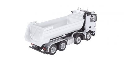 NZG 1/50scale Mercedes Benz Arox 8×4 Halfpipe Tipper White  [No.NZG905-40]