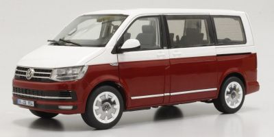 NZG 1/18scale VW T6 Multivan Red/White  [No.NZG9541-10]