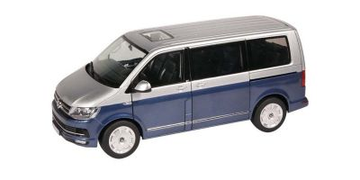 NZG 1/18scale VW T6 Multivan Generation 6 Blue / Silver  [No.NZG9541-20]