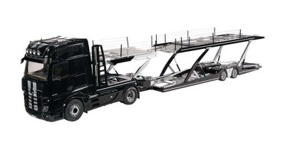 NZG 1/18scale LOHR car transporter / Mercedes Benz Actros Black / Stripe set  [No.NZG989-51]