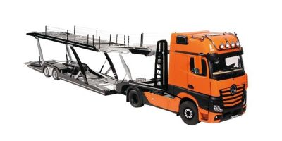 NZG 1/18scale MERCEDES BENZ ACTROS Orange GigaSpace 4x2 & LOHR AUTOTRANSPORTER   [No.NZG9891-65]