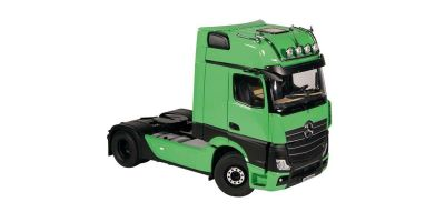 NZG 1/18scale MERCEDES BENZ Actros 4x2 GigaSpace Truck tractor Green / Black (new mirror camera design)  [No.NZG992-30]