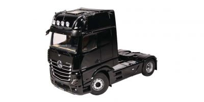 NZG 1/18scale MERCEDES BENZ Actros 4x2 GigaSpace Truck tractor Black (new mirror camera design)  [No.NZG992-50]