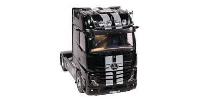NZG 1/18scale MERCEDES BENZ Actros 4x2 GigaSpace Truck tractor Black / Stripe (new mirror camera design)  [No.NZG992-51]
