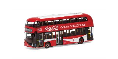 CORGI 1/76scale New Route Master (Double Decker Bus) Coca-Cola London United LTZ 1148 Route 10 King Cross  [No.CGOM46623]