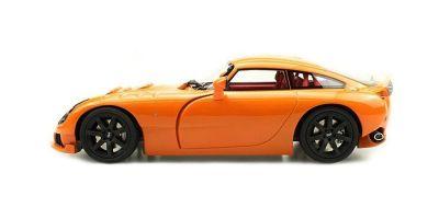 TOPMARQUES 1/18scale TVR SAGARIS 2005 Orange  [No.TOPLS008B]