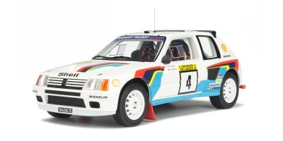 OttO mobile 1/18scale Peugeot 205 T16 1000 Lakes 1984 White [No.OTM162]