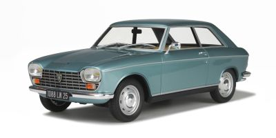 OttO mobile 1/18scale Peugeot 204 Coupe Light Blue Metallic  [No.OTM196]