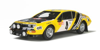 OttO mobile 1/18scale Alpine A310 1600 Group 4  Yellow / Black  Monte Carlo 1976 JP Nicolas / V Laverne  [No.OTM201]