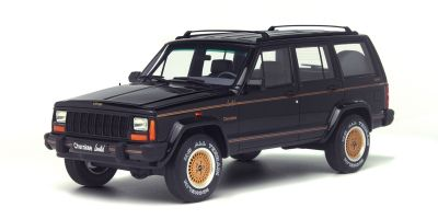 OttO mobile 1/18scale Jeep Cherokee Limited 1992 Black [No.OTM219]
