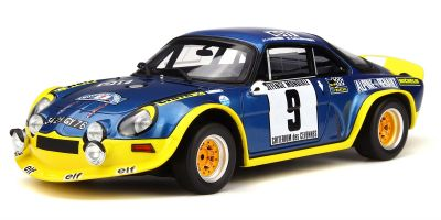 OttO mobile 1/18scale Alpine A110 Turbo Cévennes Rallye Blue/Yellow limited 2000pcs  [No.OTM249]