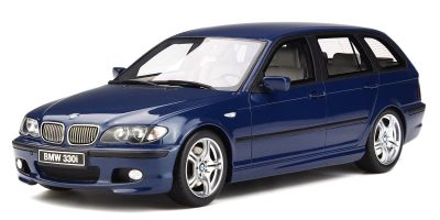 OttO mobile 1/18scale BMW 330i Touring M Package (E46) (Blue) [No.OTM251]