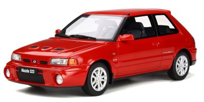 OttO mobile 1/18scale Mazda 323 GT-R (Familia) (Red)  [No.OTM255]