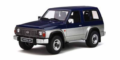 OttO mobile 1/18scale Nissan Patrol GR (Blue / Silver)  [No.OTM265]