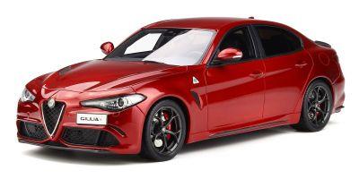 OttO mobile 1/18scale Alfa Romeo GIULIA QUADRIFOGLIO (Red) [No.OTM284]
