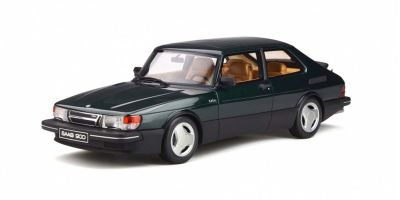 OttO mobile 1/18scale Saab 900 Turbo 16V Aero Mk1 (Green)  [No.OTM308]