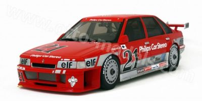 OttO mobile 1/18scale Renault 21 Super Tourismo (Red / Silver No.21)  [No.OTM560]