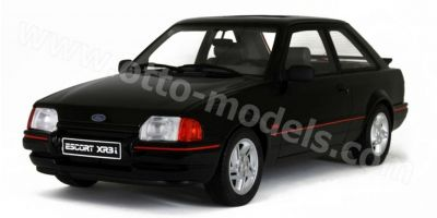 OttO mobile 1/18scale Ford Escort XR 3i (Black)  [No.OTM568]