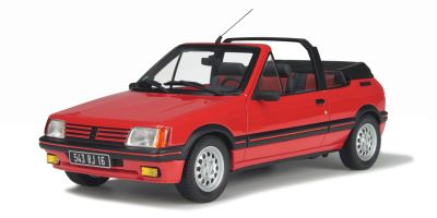 OttO mobile 1/18scale Peugeot 205 CTi RED [No.OTM600]