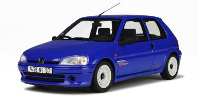 OttO mobile 1/18scale Peugeot 106 Rallye Blue [No.OTM621]