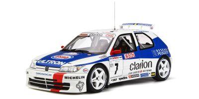 OttO mobile 1/18scale Peugeot 306 Maxi (Mk.1) Tour de Corse (White / Blue / Red)  [No.OTM664]