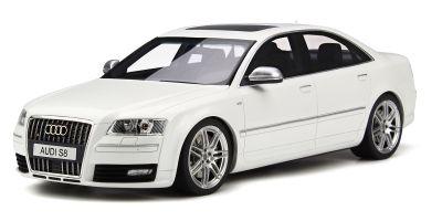 OttO mobile 1/18scale Audi S8 (D3) White  [No.OTM699]