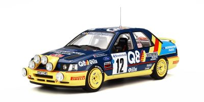 OttO mobile 1/18scale Ford Sierra 4x4 Monte Carlo #12 F.Delecour Blue/Yellow [No.OTM732]