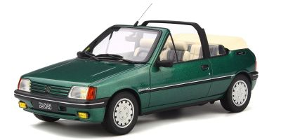 OttO mobile 1/18scale Peugeot 205 Cabriolet Green [No.OTM733]