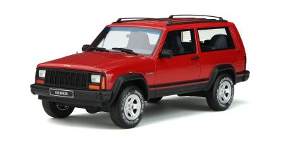 OttO mobile 1/18scale Jeep Cherokee 2.5 EFI (Red)  [No.OTM738]