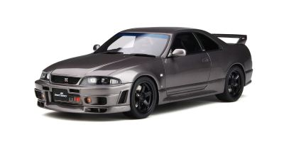 OttO mobile 1/18scale Nissan Skyline GT-R (R33) by Omori Factory (Gray Metallic)  [No.OTM758]