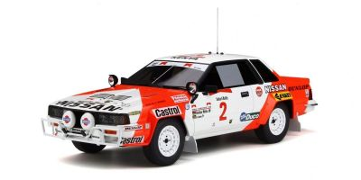 OttO mobile 1/18scale Nissan 240 RS Safari Rally 1984 (White / Red)  [No.OTM765]
