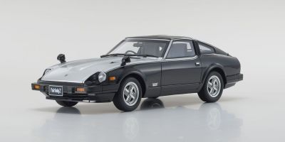 OttO mobile 1/18scale Nissan Fairlady Z-T Turbo 1983 (Black / Silver) OttO Mobile Kyosho Exclusive  [No.OTM769]