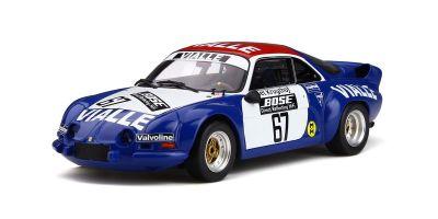 OttO mobile 1/18scale Alpine A110 Gr.5 Rally Cross #67 Team Vialle (Blue / White / Red)  [No.OTM795]