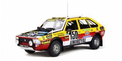 OttO mobile 1/18scale Renault 20 Turbo 4x4 Paris-Dakar 1982 (Blue / Yellow / Red)  [No.OTM821]