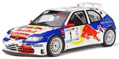 OttO mobile 1/18scale Peugeot 306 Maxi Rally (Blue / White) World Limited 3,000  [No.OTM829]
