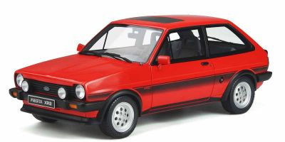 OttO mobile 1/18scale Ford Fiesta XR2 Mk.1 (Red) World Limited 2,000  [No.OTM848]