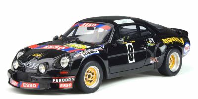 OttO mobile 1/18scale Alpine A110 1800 Gr.5 # 8 (Black) World Limited 2,000  [No.OTM857]